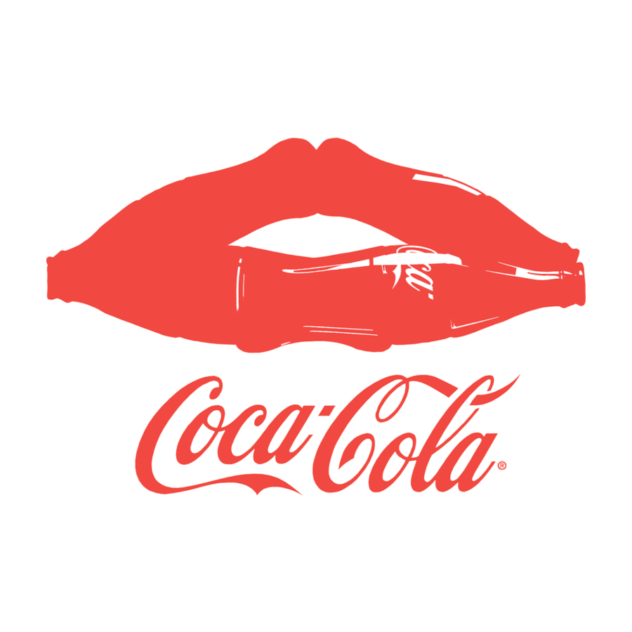 KISS COCA-COLA